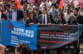 Save Our Hospitals Protest March