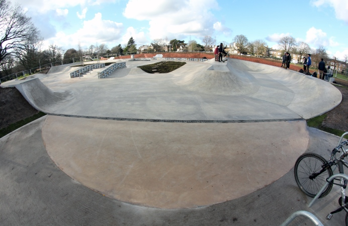 skatepark opens in acton