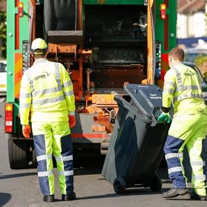 collecting Ealing refuse