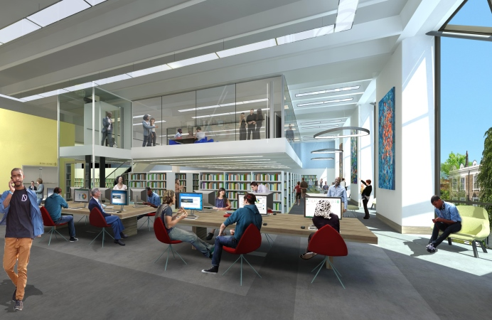 relocation plans for library