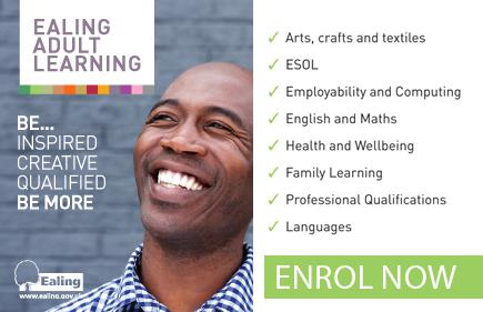 Adult Learning Advert