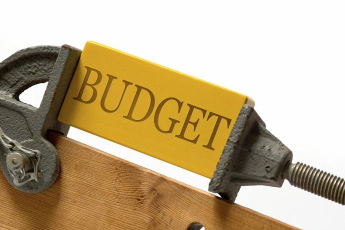 Budget picture, squeezed, tightened
