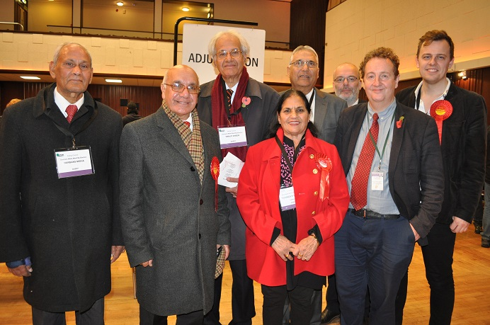 Mohinder Kaur Midha wins the Dormers Wells ward by-election.