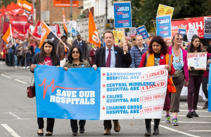 March to save our hospitals
