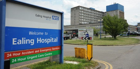 NHS services at Ealing Hospital