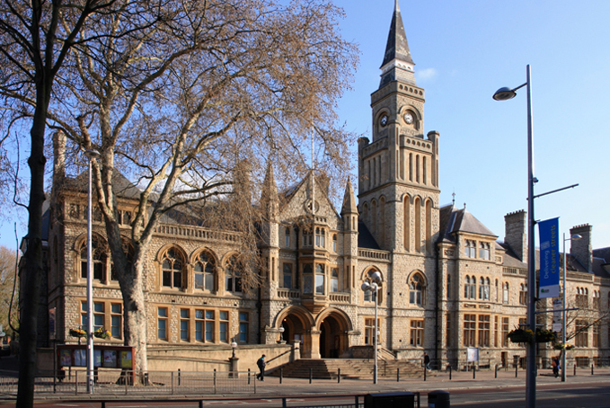 Ealing town hall exterior