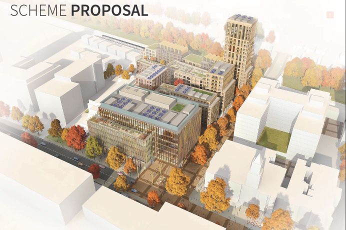 Proposed development of Perceval House