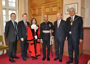 Formal introduction to the new Representative Deputy Lieutenant for Ealing