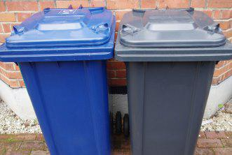 New refuse and recycling wheelie bins