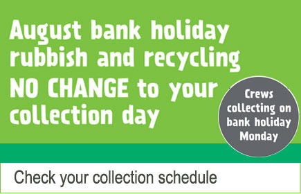 No change to your collection day