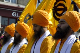 Vaisakhi procession in Southall