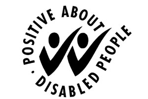 Two ticks disability logo