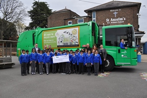 schools recycling competition