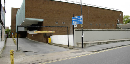 Springbridge Road car park entrance